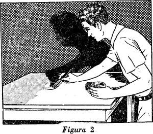 Come LACCARE il legno - LUCIDATURA dei mobili fig.2