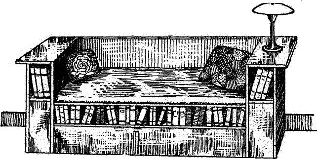Come costruire un divano libreria - Costruire un divano in legno ...