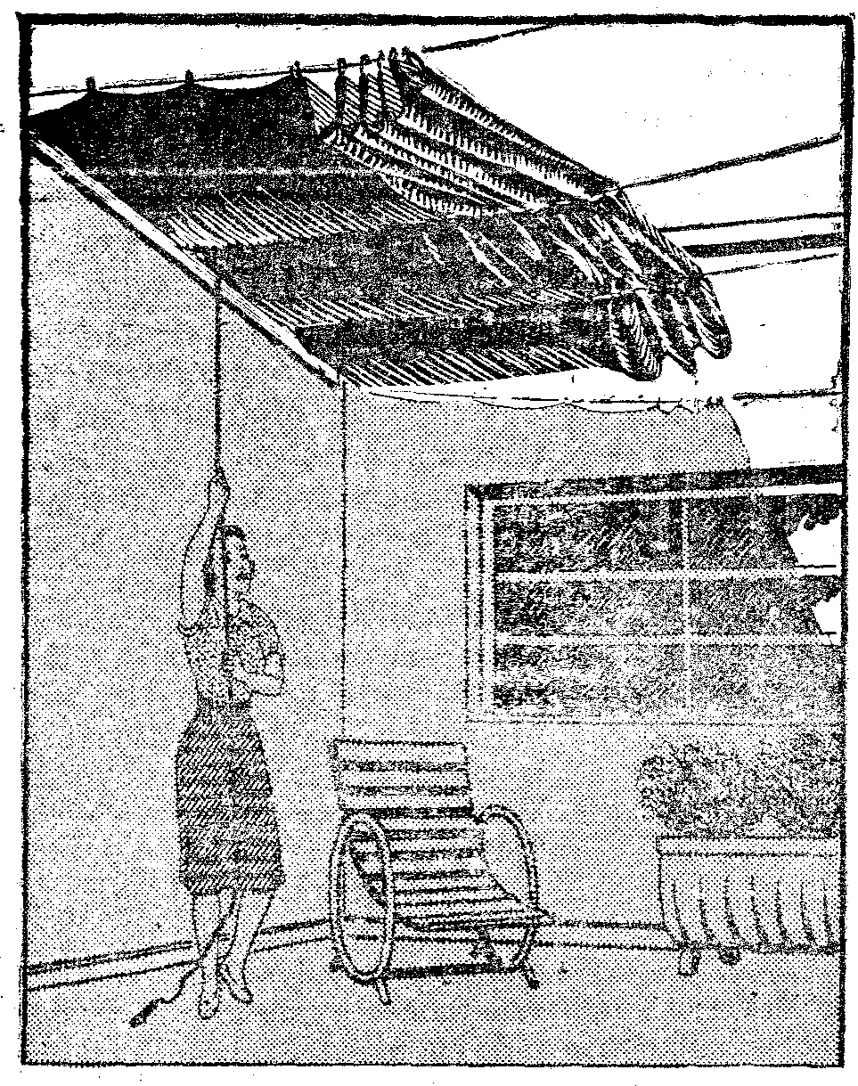 come costruire un lampadario con i listelli di legno