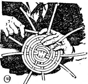 Come fare cesti di vimini o cestini di vimini o in giunco 11