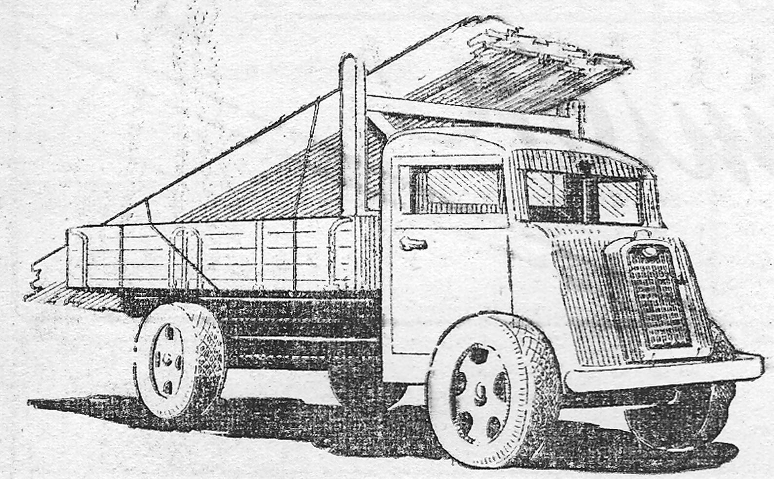 come costruire un camion giocattolo. Black Bedroom Furniture Sets. Home Design Ideas