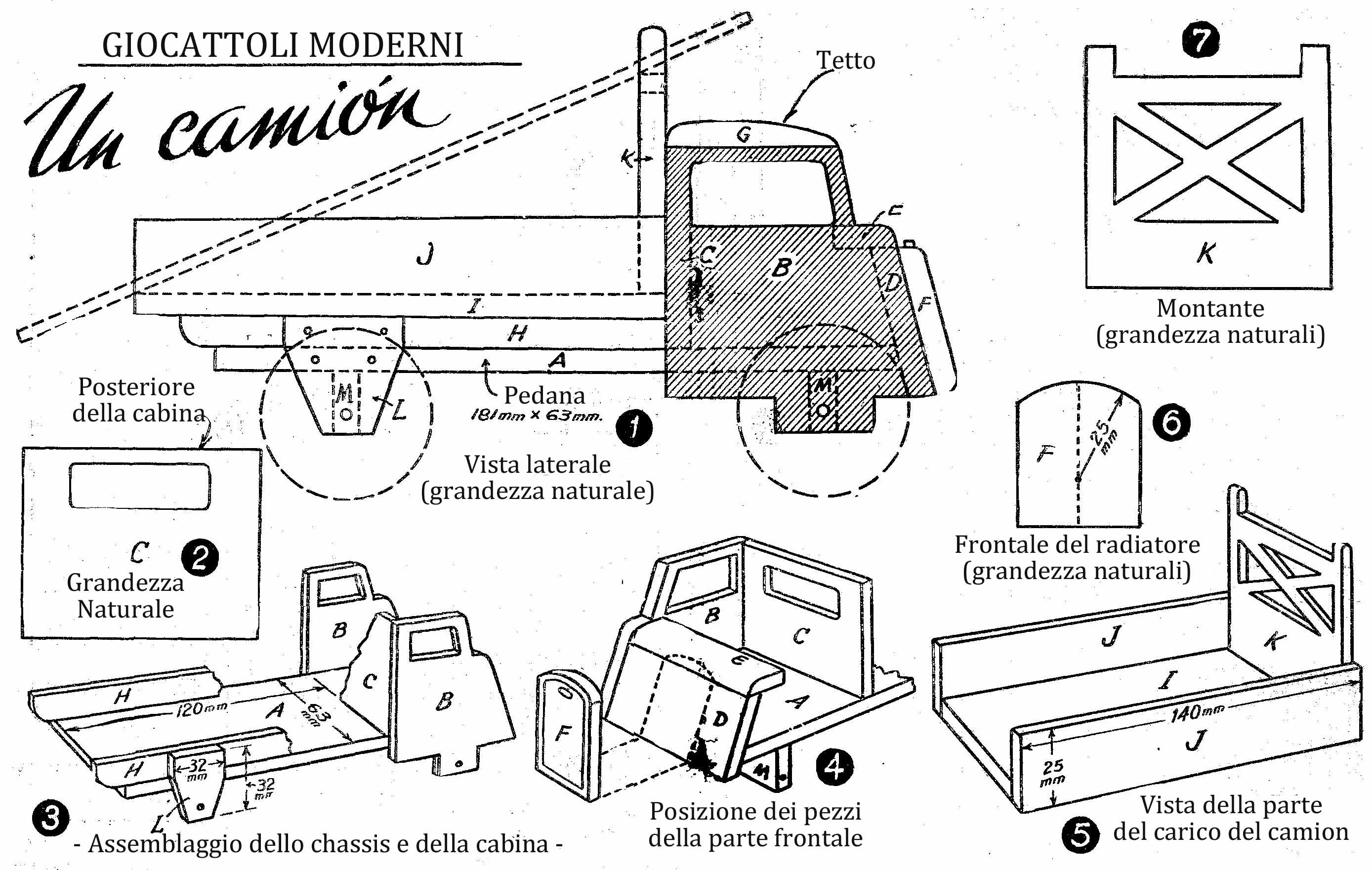 costruire giocattoli in legno dx99 regardsdefemmes. Black Bedroom Furniture Sets. Home Design Ideas