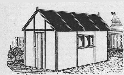 Come costruire un capanno per gli attrezzi - Attrezzi per imbiancare casa ...