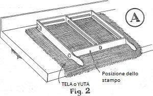 Come fare mattoni di gesso 2a