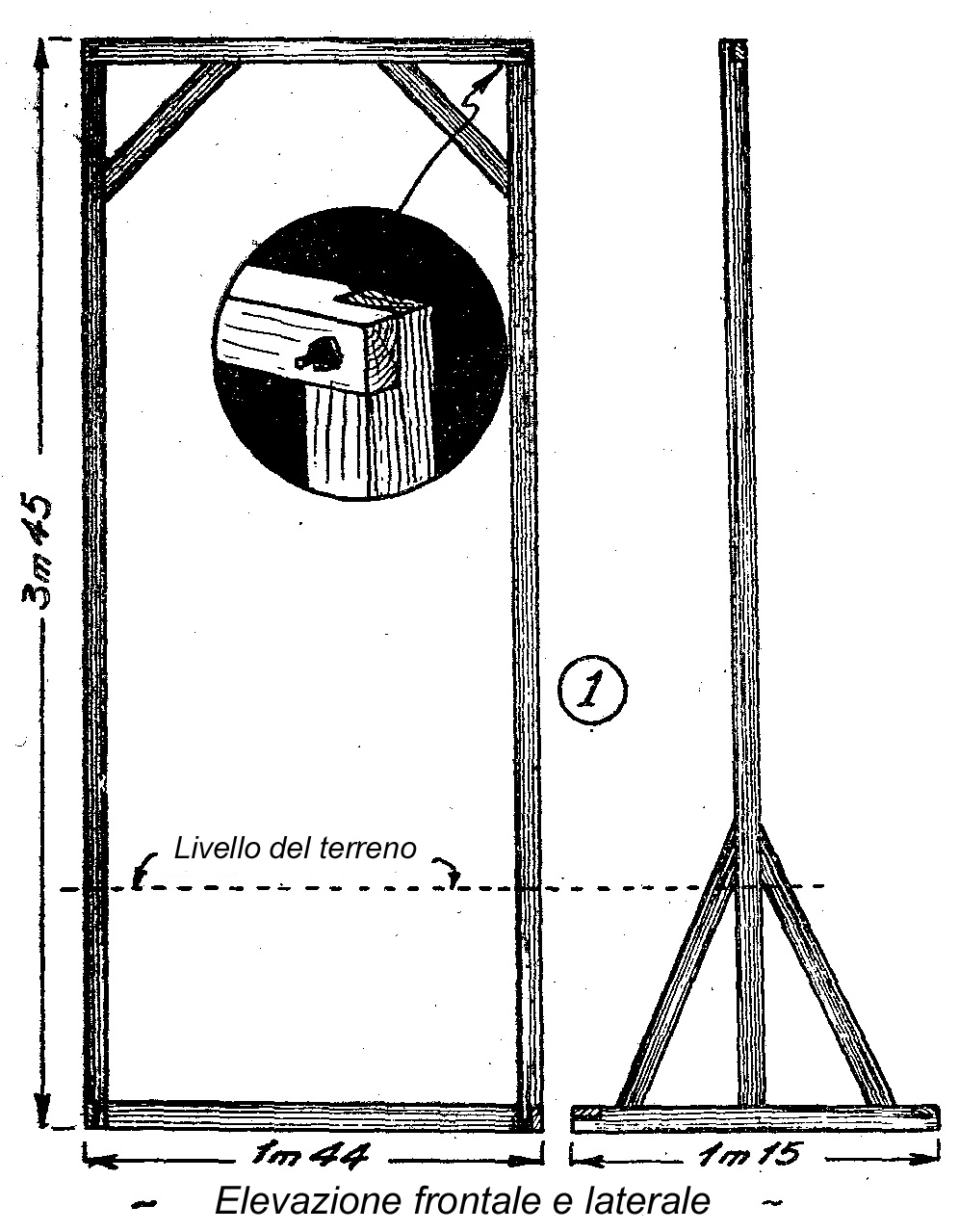 come costruire un altalena di legno per bambini come