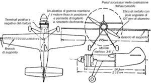 Come costruire un AEROMOBILE CON MOTORE ELETTRICO - Fig.4
