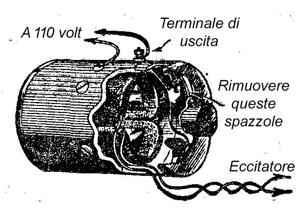 Schema Elettrico Generatore Di Corrente : Come costruire un generatore elettrico o impianto