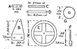 Come costruire un MOTORE A SOLENOIDE ad Alta Velocità - Fig.3 Dettaglio