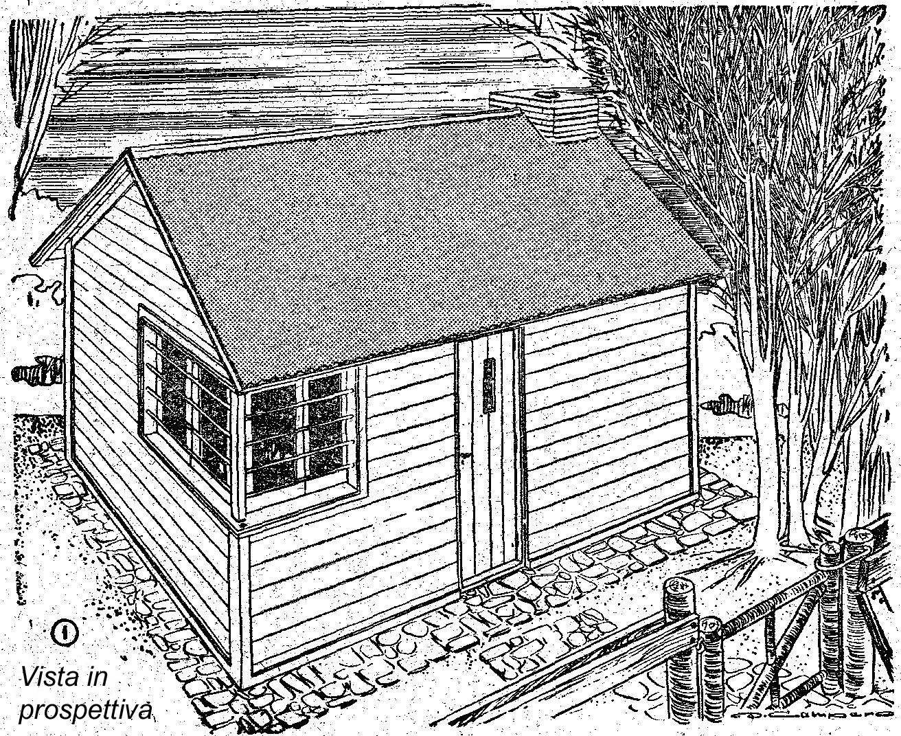 Come costruire una casa di legno piccola ed espandibile for Hacer casas