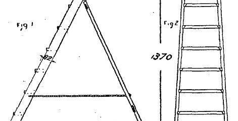 Scale da PITTORE DI LEGNO - Come costruire una SCALA - Fig.1