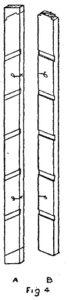 Scale da PITTORE DI LEGNO - Come costruire una SCALA - Fig.4