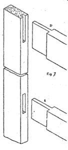 Scale da PITTORE DI LEGNO - Come costruire una SCALA - Fig.7