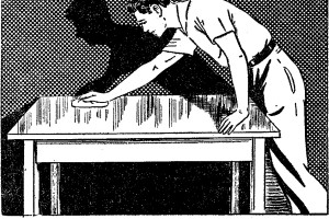 Come LACCARE il legno - LUCIDATURA dei mobili fig.3