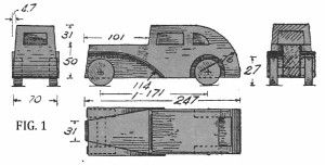 Come costruire un'AUTO DI LEGNO fig. 1