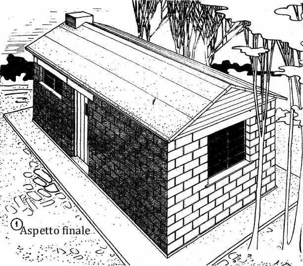 Come Costruire Una Casa Economica Con Blocchi Di Cemento