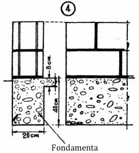Come costruire una casa economica con blocchi di cemento 4
