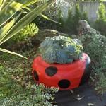 Come costruire VASI con PNEUMATICI – Idee per il giardino