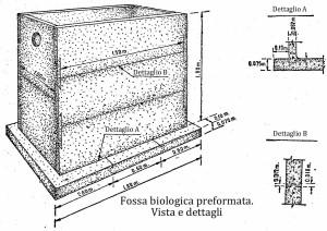 Fossa biologica o fossa settica, come costruirne una di cemento 6