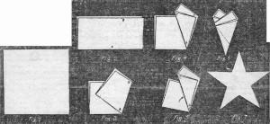 Come fare una stella a cinque punte di carta 1