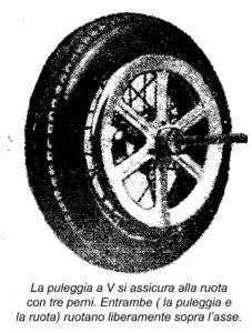 Come costruire un'AUTOMOBILE DI LEGNO CON MOTORE - Fig.4