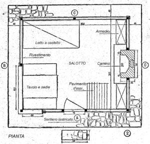 Come costruire una CASA DI LEGNO piccola ed espandibile - Fig.2